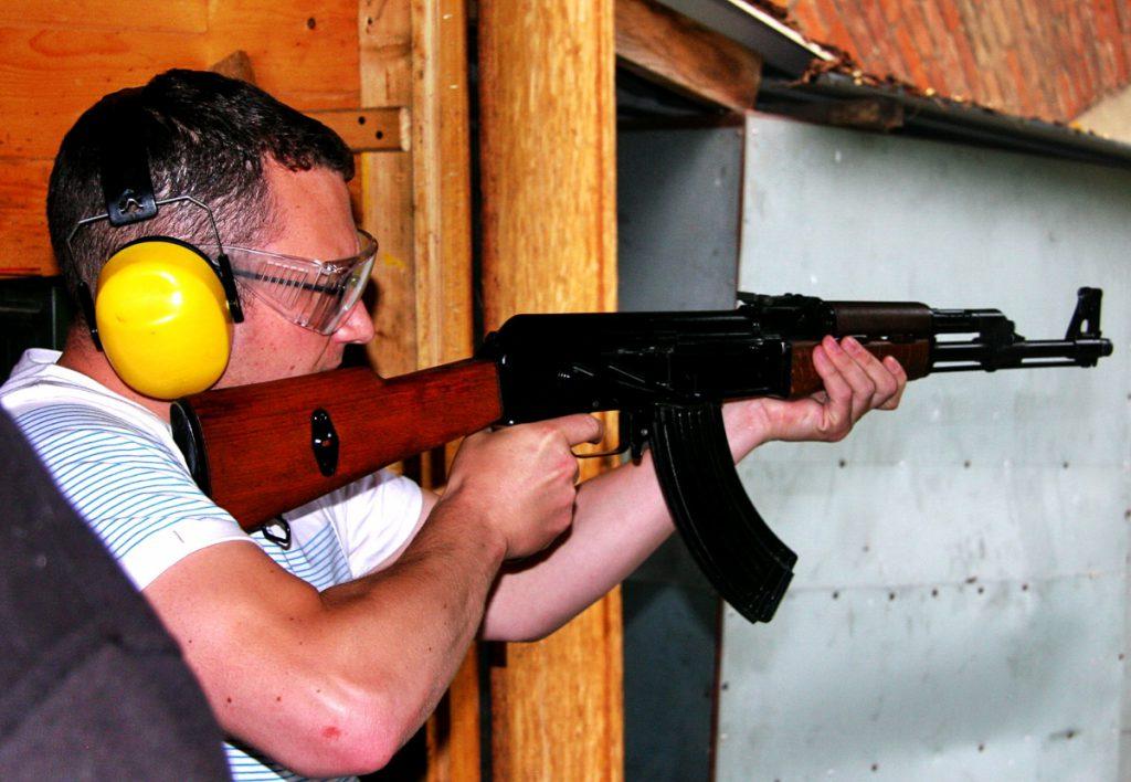 kalashnikov grotgun strzelnica kraków