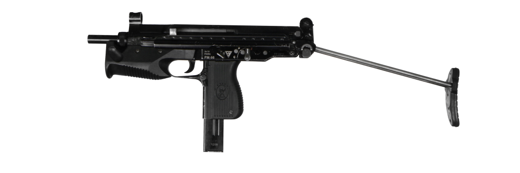 Submachine gun Glauberyt - GrotGun - Shooting range with the