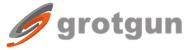 GrotGun - logo
