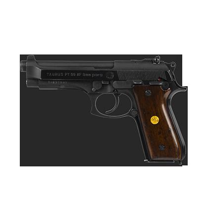 Pistolet TAURUS vel BERETTA