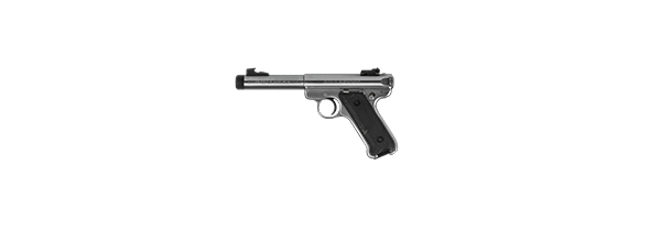 Pistolet RUGER model MKII