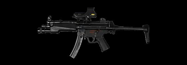 Pistolet Maszynowy MP5
