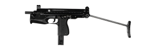 machine pistol glauberyt
