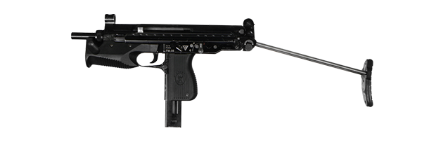 Pistolet Maszynowy Glauberyt