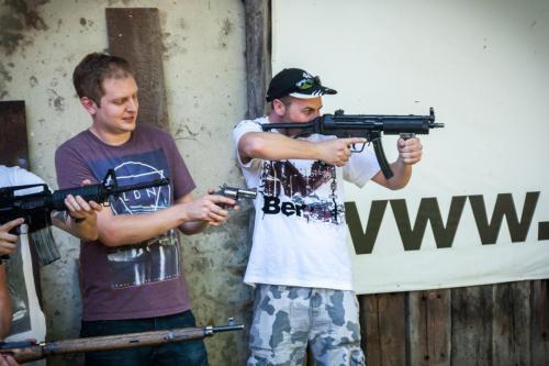 strzelanie krakow
