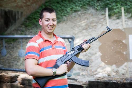 strzelnica krakow ak 47